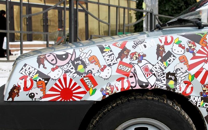 Снять наклейку с кузова автомобиля