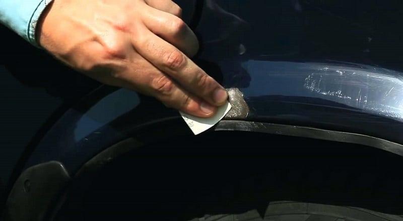Как подкрасить сколы на авто своими руками
