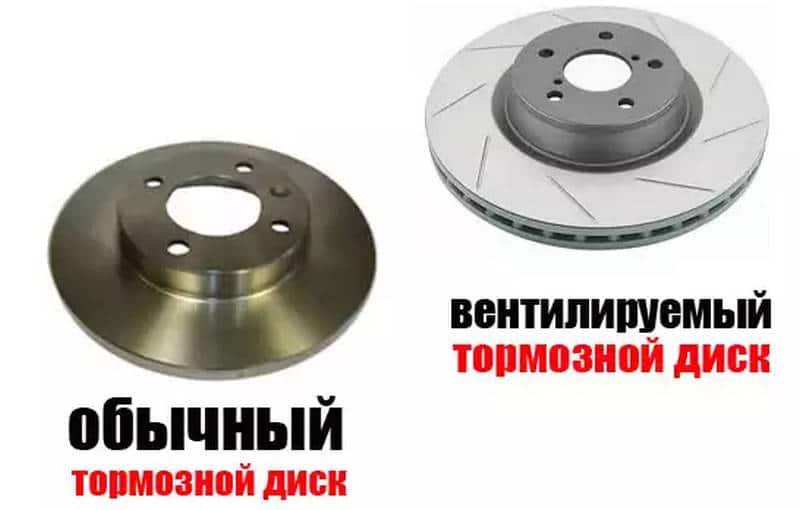 как проводится снятие тормозного диска