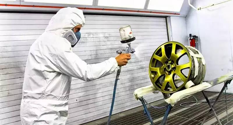 как делается ремонт колесных дисков