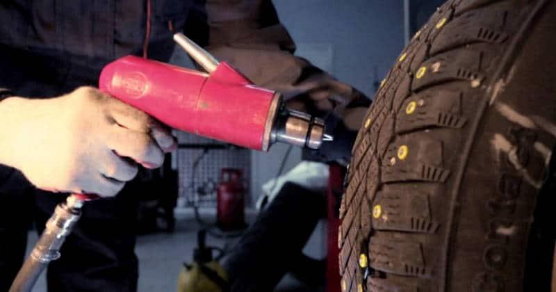 можно ли восстановить шипы на зимней резине своими руками в гараже