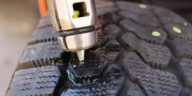 как делается восстановление шипов на зимней резине своими руками