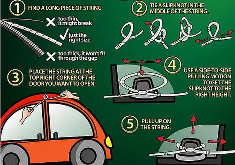 что делать, если потерял единственные ключи от машины