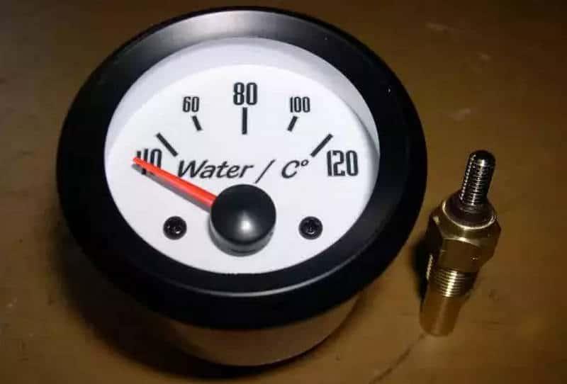 замена датчика температуры охлаждающей жидкости