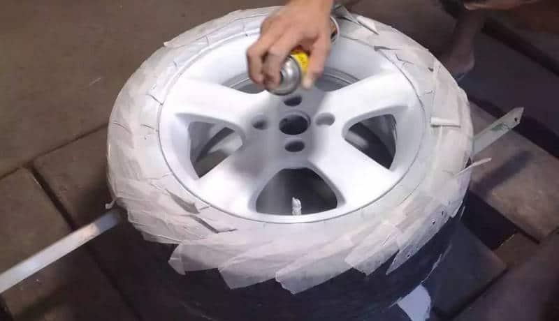 как провести восстановление покрытия литых дисков своими руками
