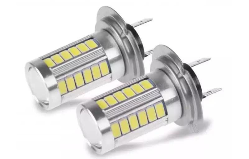 лампочки h7, какие лучше светят на обочину