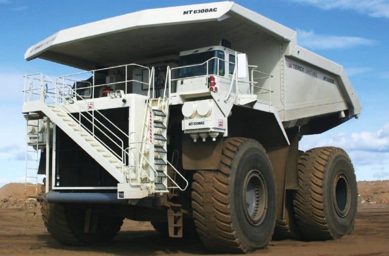 самые огромные машины в мире для перевозки