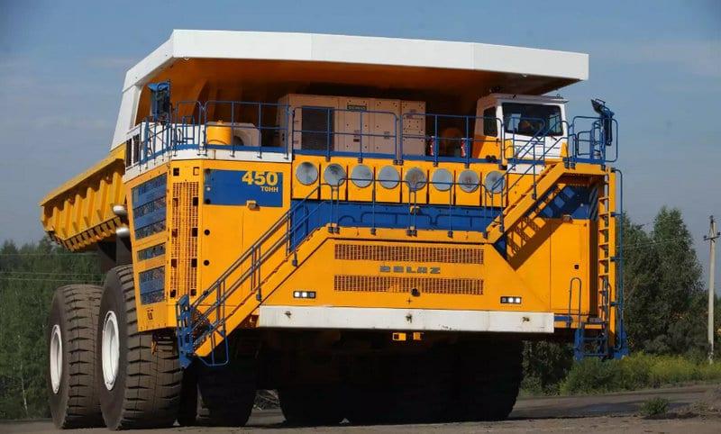 самые огромные машины в мире для карьеров