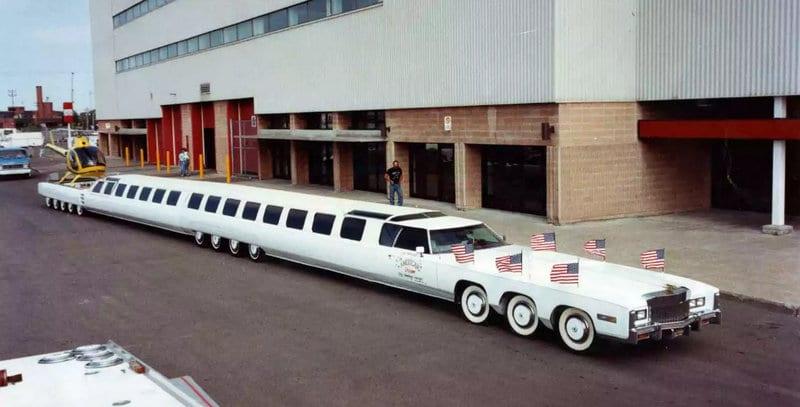 самые большие легковые машины в мире на фото