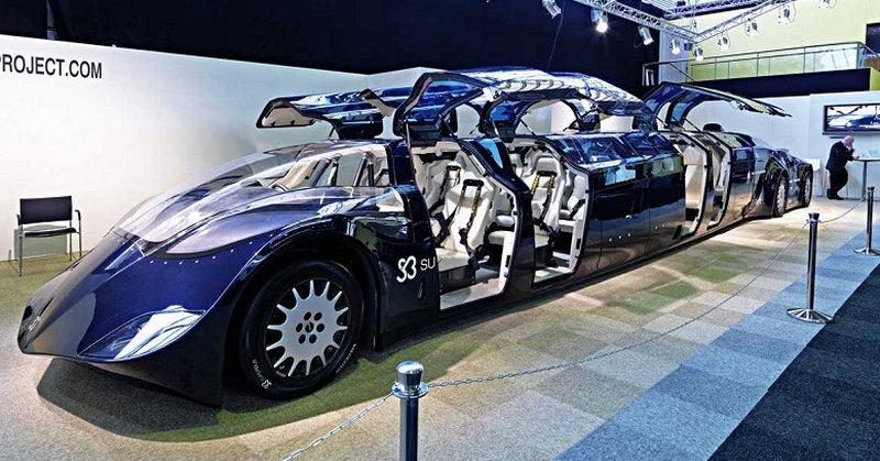 самые большие легковые машины в мире и их фото