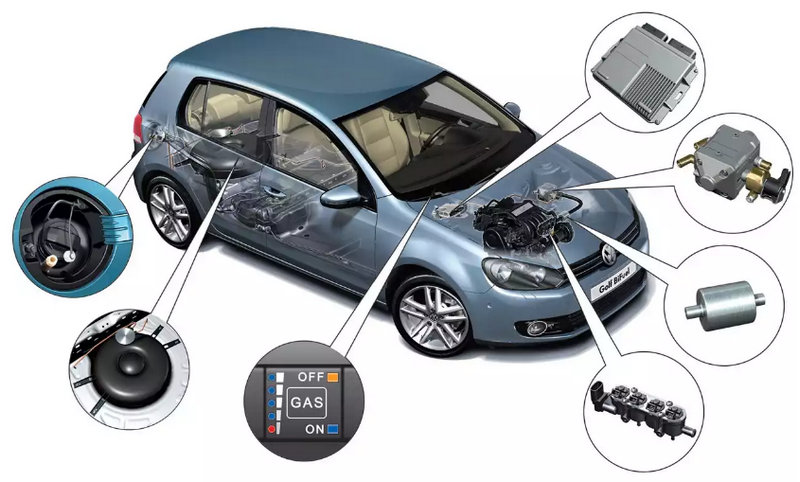 как ставить газовое оборудование на автомобиль
