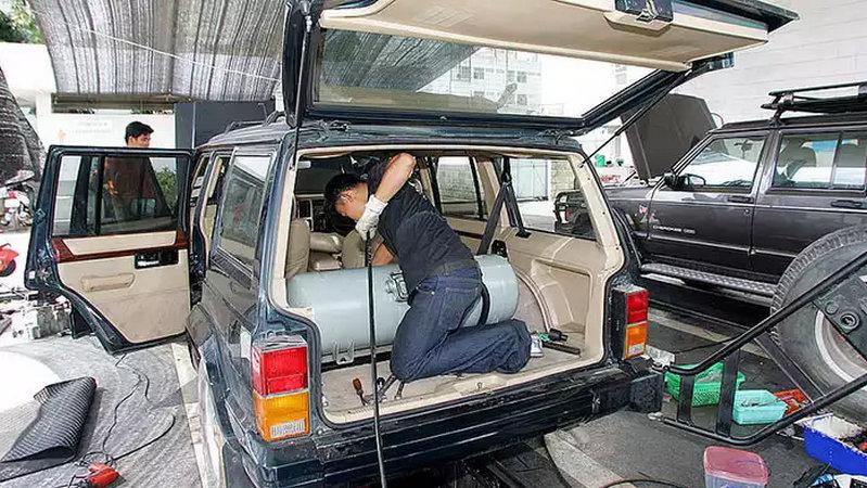 как выглядит газовое оборудование на автомобиль