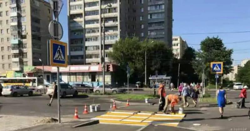 """где найти фото знака """"пешеходный переход"""""""