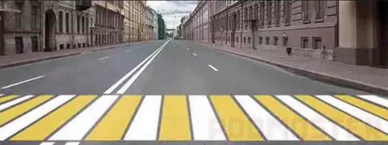 какие бывают предупреждающие знаки для пешеходов