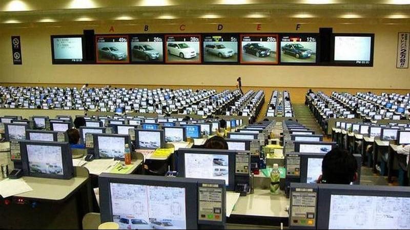 как проходят автомобильные аукционы в Японии