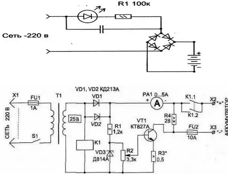как сделать автомобильное зарядное устройство своими руками