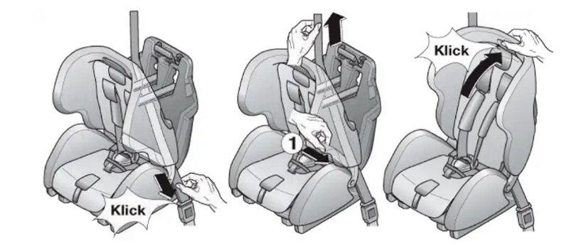 как устанавливать детское кресло в машине по видео