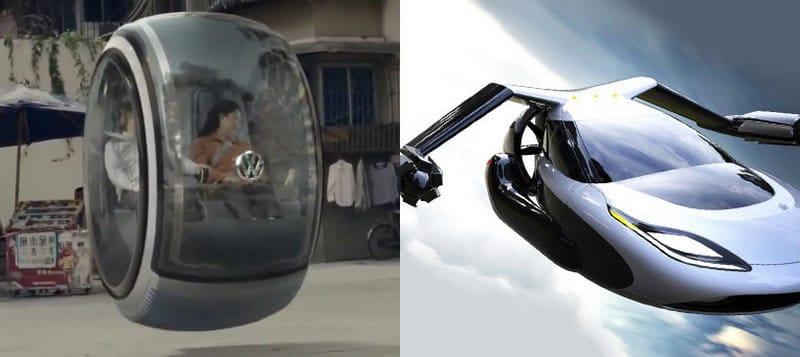 летающие автомобили будущего
