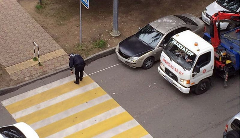 какой штраф за обгон на пешеходном переходе