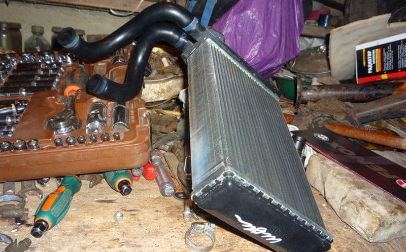 как поменять радиатор печки на ВАЗ 2114