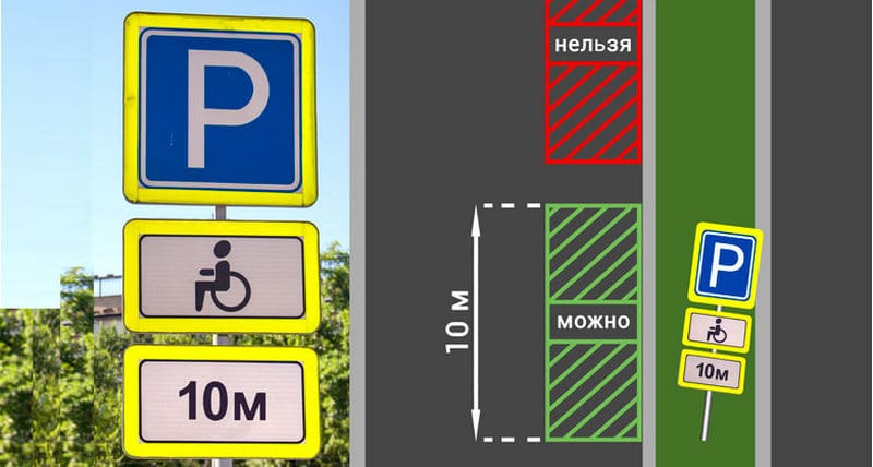 как выглядит знак парковка для инвалидов