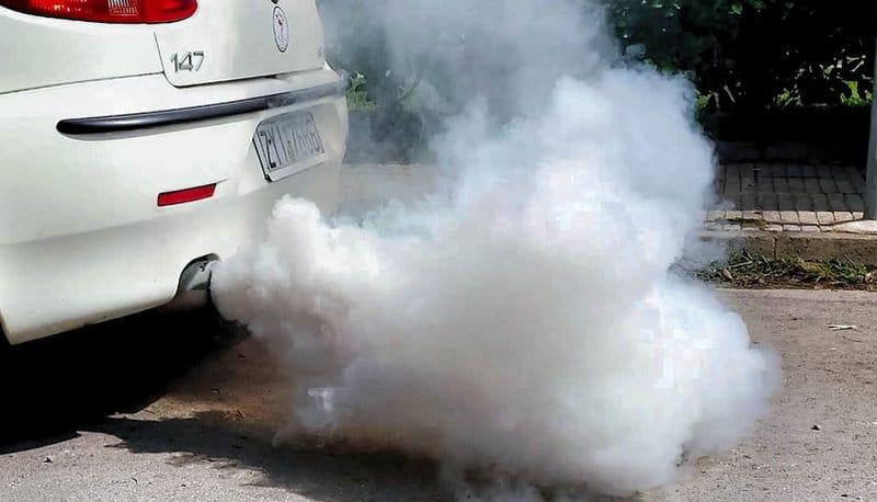 когда дизель дымит белым дымом