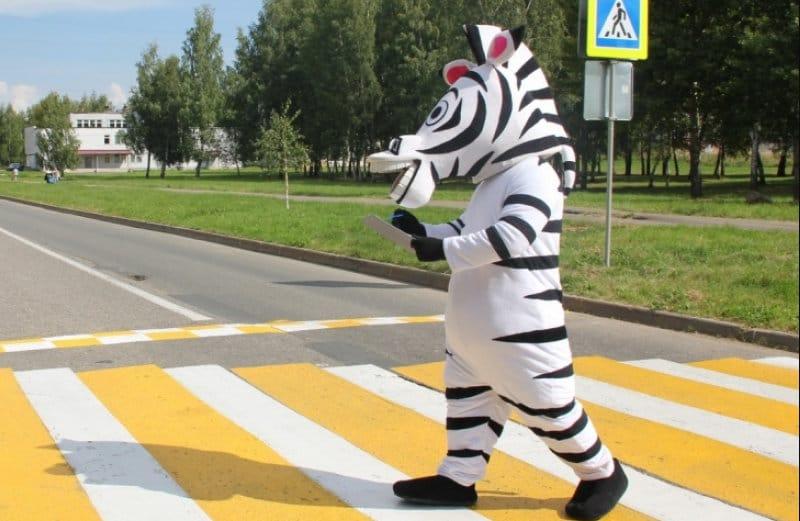 где правила дорожного движения на пешеходном переходе