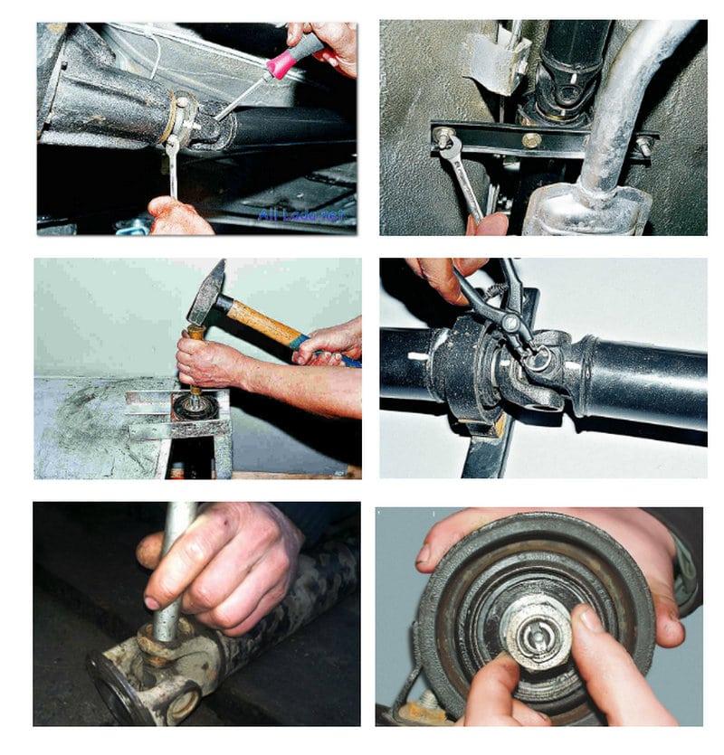 сколько стоит ремонт подвесного подшипника
