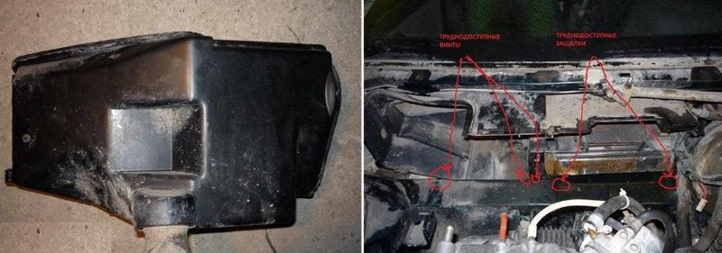 как поменять радиатор печки на ВАЗ-2110