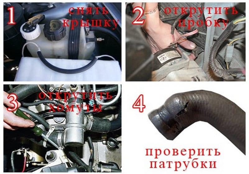 как проводится замена термостата ВАЗ-2114