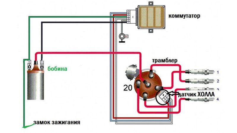 где взять электронное зажигание на ВАЗ-2106