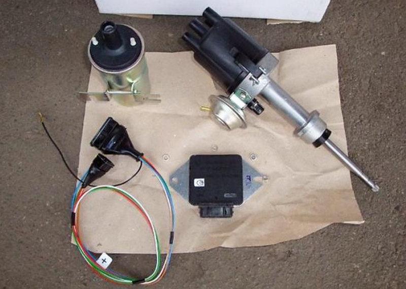 как выставить зажигание электронное на ВАЗ-2106