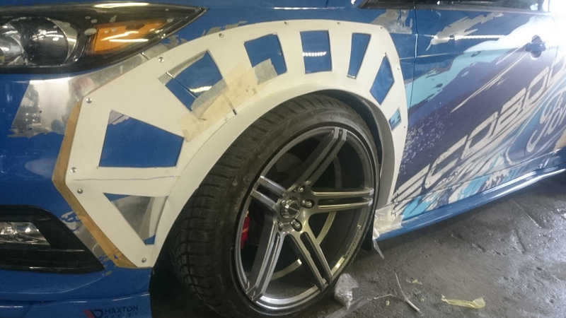 как сделать самому накладки на колесные арки